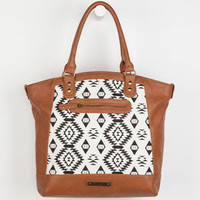 Rock Rebel Ikat Tote Bag Cognac One Size For Women 23786740901