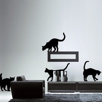 Cats wall decals by Couture Deco