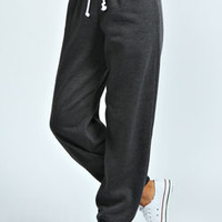 Zoe Fleece Back Jersey Joggers