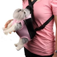 Pet Cat Dog Travel Net Front Carrier Bag Backpack Small