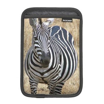 Zebra iPad Mini Sleeve