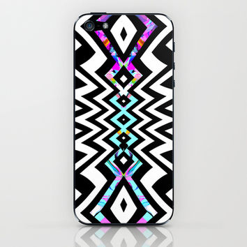 Mix #429 iPhone & iPod Skin by Ornaart