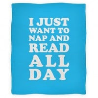 I Just Want To Nap And Read All Day