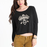 Anna Embroidered Top by Brandy Melville - ThreadSence.com