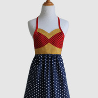 The WONDER HERO Woman's Full Super Hero by ModernVintageDesigns