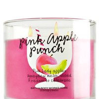3-Wick Candle Pink Apple Punch