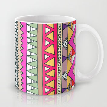 Tribal Lines Mug by Ornaart