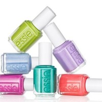 Essie Nail Lacquer Neon 2014 Collection Full Size + Free Skin Care Sample