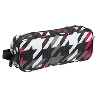 Gear-Up Red Houndstooth Pencil Case