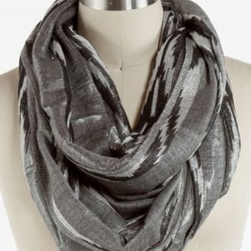 AZTEC LUREX ETERNITY SCARF