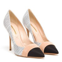 NICHOLAS KIRKWOOD | Striped Leather Pumps | Browns fashion & designer clothes & clothing