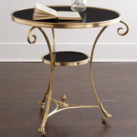 Black Rock Side Table