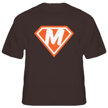 Cleveland Browns Superman T Shirt - Johnny Football Manziel