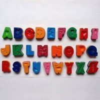 Alphabet Crayons: Set of 26 : Branch: Sustainable Design for Living