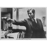 (24x36) The Godfather Movie (Al Pacino Pointing Gun) Poster Print