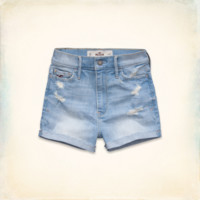 Hollister Natural Waist Short-Shorts