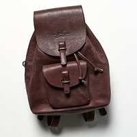 John Fluevog Womens Harvey Backpack - Oxblood, One Size