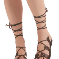 Kick Back Sandal in Chocolate | ModCloth.com