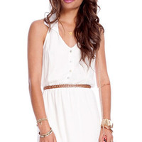 Pretty Preppy Dress in White :: tobi