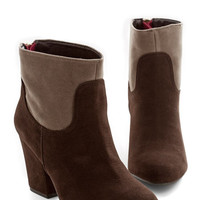 ModCloth Rustic Hear Me Rural Bootie