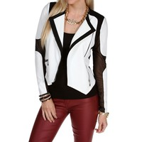 Contrast Colorblock Jacket