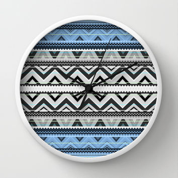 Mix #76 - Double Size Wall Clock by Ornaart