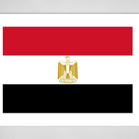 "Saatchi Art Artist: Bruce Stanfield; Digital 2014 New Media ""National flag of Egypt, Authentic version in scale and color ("""