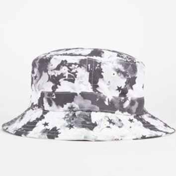 Asphalt Yacht Club Xtc Mens Bucket Hat Black/White One Size For Men 24524212501