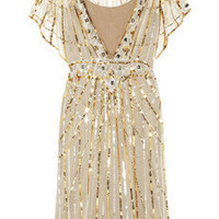 Temperley London|Web sequined tulle dress|NET-A-PORTER.COM