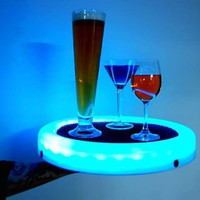 Glowing Drink Platters - The LED Multi-Colored Serving Tray Turns Any Party into a Hip Hotspot (GALLERY)