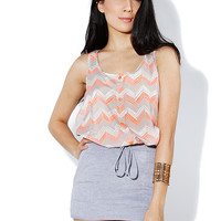 Papaya Clothing Online :: CHEVRON DRESS TOP