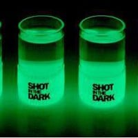 Shot In The Dark - Glow-In-The-Dark Shot Glass (GALLERY)