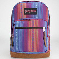 Jansport Right Pack World Collection Mexico Backpack Vivid Purple Acapulco Ombre Stripe One Size For Men 23735895701