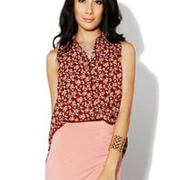 Papaya Clothing Online :: FLORAL BLOUSE