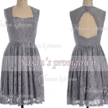 2014 homgcoming dress,lace short dress,evening dress,bridesmaid dress,prom dress.cocktail dress,homecoming gown