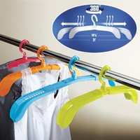 Set/4 Adjustable Drying Hangers @ Fresh Finds