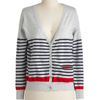 Anything Boat Ordinary Cardigan | Mod Retro Vintage Sweaters | ModCloth.com