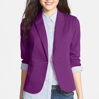 Olivia Moon Ruched Sleeve Jacket (Regular & Petite)
