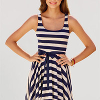 dELiAs &gt; Nautical Belted Dress &gt; dresses &gt; casual