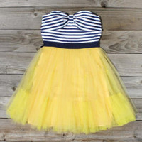 Tulle & Thread Dress in Lemon
