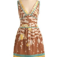 Bubbling Brook Dress | Mod Retro Vintage Printed Dresses | ModCloth.com
