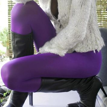 Solid Color Tights | Nylon & Microfiber Tights | We Love Colors