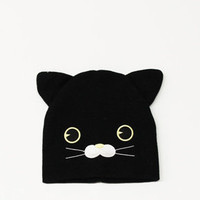 Animal Head Beanie (Cat)