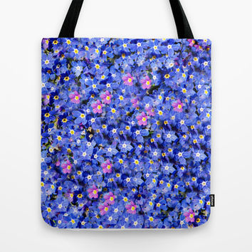 FORGET-ME-NOT FANTASY Tote Bag by Catspaws | Society6