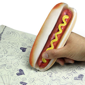 B2 – HOT DOG BOOKMARK PEN