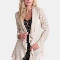 Amari Drape Cardigan | Threadsence