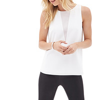Geo Colorblocked Sleeveless Top