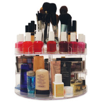Glam Caddy Rotating Cosmetic Organizer