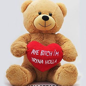 "Hollabears 16"" Teddy Bear Original Hollabear"