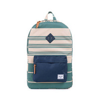 Heritage backpack army stripe/rubber